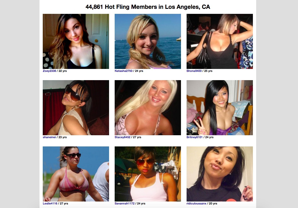 Fling girls profiles